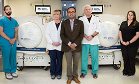 Westchester Medical Center's Hyperbaric Oxygen Therapy Program Receives Accreditation with Distinction
