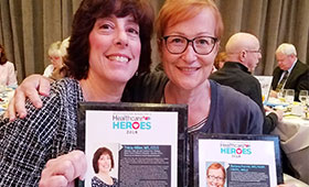 Tricia Hiller and Boriana Parvez, MD, Honored As Healthcare Heroes by Westchester Magazine